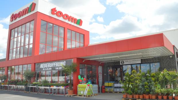 Der Ende Mai eröffnete Toom-Markt in Stade hat das DGNB-Zertifikat in Gold erhalten.