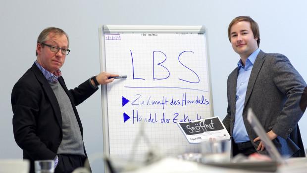 Prof. Dr. Gerrit Heinemann und Christian Gaiser