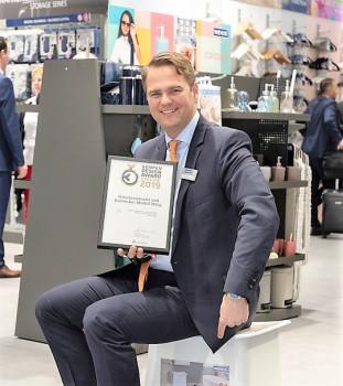 Freut sich über die Auszeichnung: Wenko-Geschäftsführer Niklas Köllner.