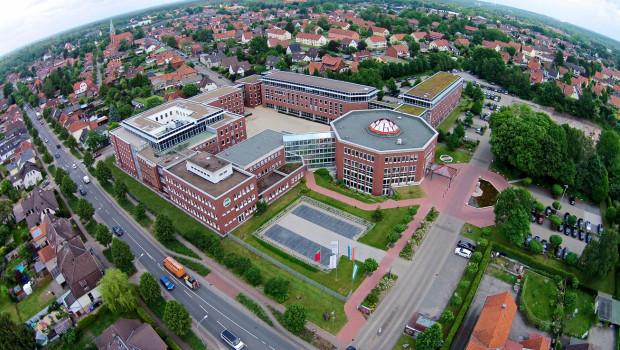 Die Hagebau-Zentrale in Soltau will in diesem Jahr wieder ein Einkaufsvolumen von mehr als sechs Mrd. € erreichen.