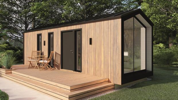 Hornbach hat Tiny Houses seit Anfang des Jahres 2021 im Programm.