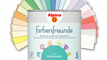 Farbenfreunde - Farbkonzepte speziell für Kinderzimmer
