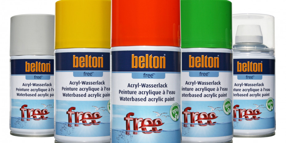Belton Free, Lackspray