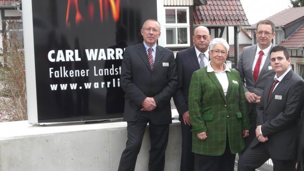 Unternehmensleitung Carl Warrlich
