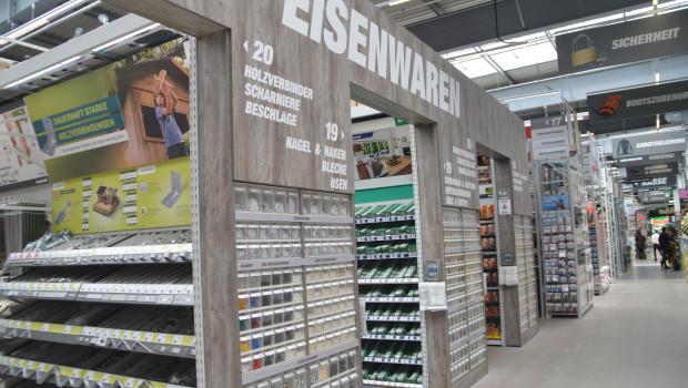 Dem Einzelhandel mit Metallwaren, Anstrichmitteln und Bau- und Heimwerkerbedarf hat der Februar laut Destatis einen weiteren Umsatzschub gebracht.