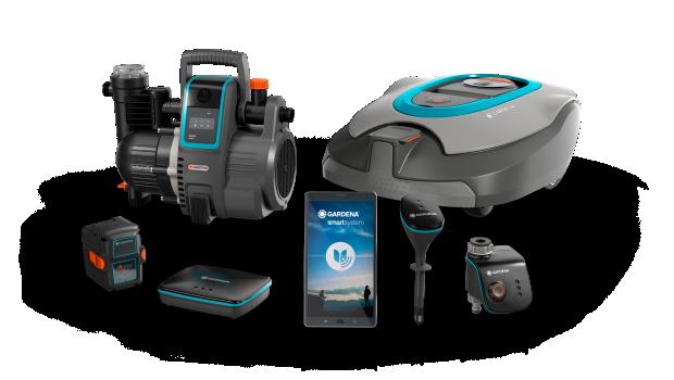 Die Einführung des Gardena Smart Systems ist laut Husqvarna-Geschäftsbericht einer der Gründe für das Umsatzplus von Gardena.