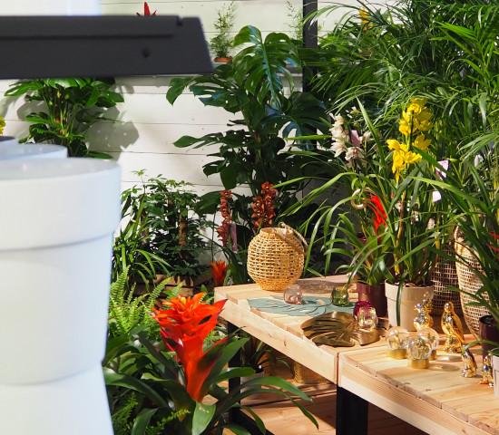 Die flexible Bestückung bringt Pflanze und Hartware zusammen.