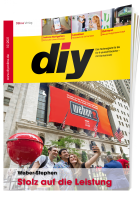 diy Fachmagazin für die Baumarkt- und Gartencenterbranche