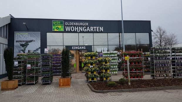 """Der neue Partner Michael Löschau hat den """"Oldenburger Wohngarten"""" eröffnet."""