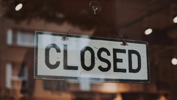 Geschlossene Geschäfte im Januar: Die Baumarkt- und Gartencenterumsätze sind eingebrochen.