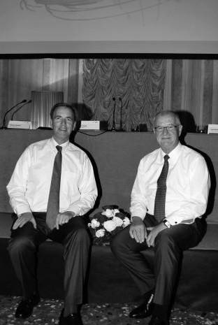 Dr. Eckhard Keill und Michael Stangier