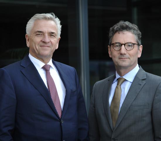 Die beiden Gruppen passen gut zusammen meinen die Vorstandsvorsitzenden Harry Bruijniks (Euretco) und Franz-Josef Hasebrink (EK-Servicegroup).
