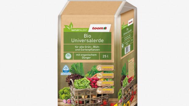 Toom Baumarkt spendet für jede im März verkaufte Packung torffreier Erde seiner Naturtalent-Eigenmarke einen Euro an den Nabu.