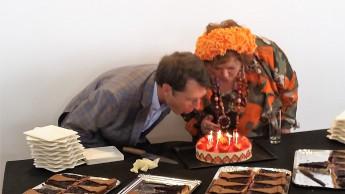Geburtstagstorte zur 10. Table ronde Bricolage