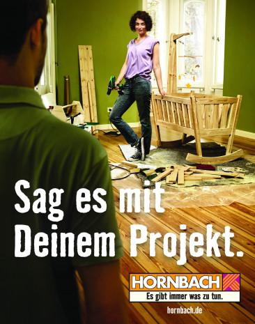 Customer Centricity, Hornbach Markenbotschaften