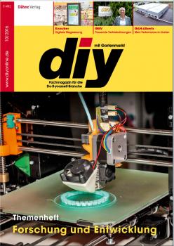 Die Oktober-Ausgabe des Fachmagazins diy ist jetzt erschienen.