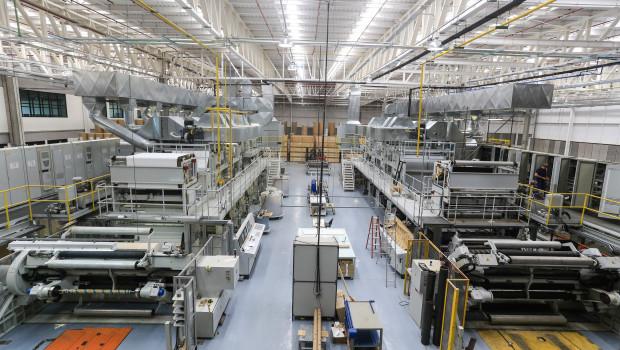 Die Wrede-Gruppe hat ihre globale Präsenz ausgebaut. Im Bild das Interprint-Werk in Brasilien.