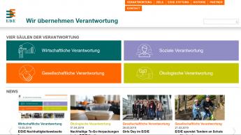EDE-Gruppe stellt neue Webseite für Nachhaltigkeit vor