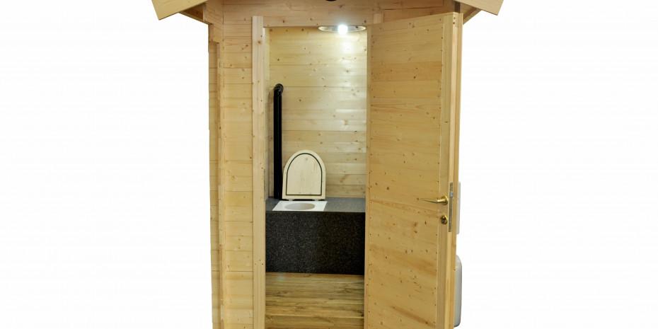 Auch in deutsche Schrebergärten will Dunster House seine Garten-Toiletten liefern.