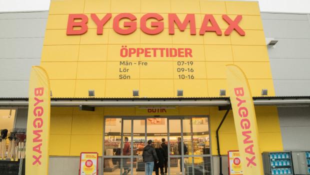 Byggmax ist derzeit mit 170 Märkten in Schweden, Norwegen und Finnland präsent.