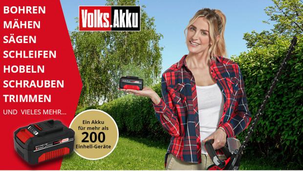 Der Werkzeughersteller rückt seinen 4,0 Ah-Akku in den Mittelpunkt der Kampagne.