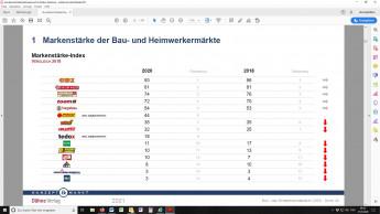 Obi ist nach wie vor stärkste Marke vor Bauhaus und Hornbach