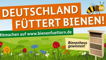 """Branchenverbände unterstützen Initiative """"Bienen füttern!"""""""