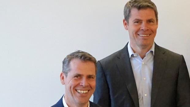 Die Zwillingsbrüder Per (l.) und Nils Klemm haben das Unternehmen 22 Jahre lang gemeinsam geführt.