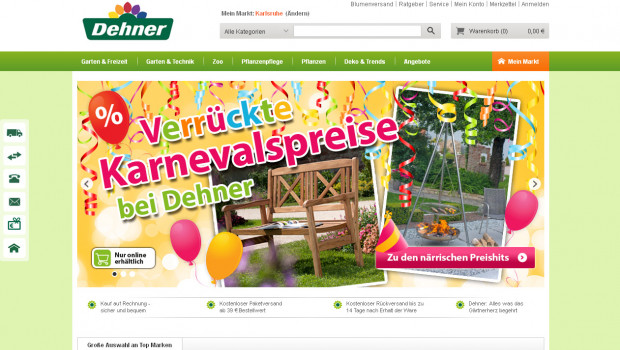 Dehners Online-Shop