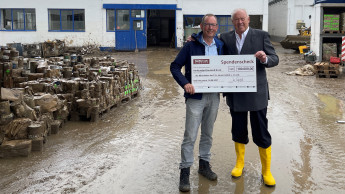 Meffert AG Farbwerke unterstützen Branchenkollegen