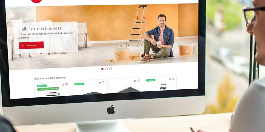 Alle Geschäftsbereiche sind nun über eine zentrale Website auffindbar.