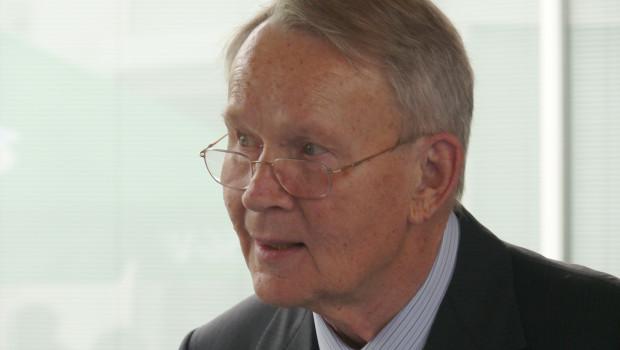 Der Baumarktpionier Otmar Hornbach verstarb am vergangenen Samstag.