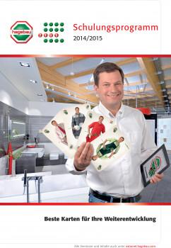 Neu erschienen ist das Hagebau- und Zeus-Schulungsprogramm für Deutschland und Österreich für 2014/2015.