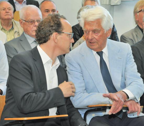 Gardena, Sascha Menges (l.), Firmengründer Werner Kress (re)