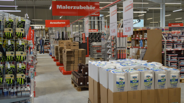 Der Einzelhandel mit Metallwaren, Anstrichmitteln, Bau- und Heimwerkerbedarf hat im Mai laut Destatis ein Umsatzplus von real drei Prozent erzielt.