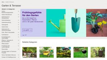 Ein Viertel hat Gartenprodukte schon einmal online gekauft