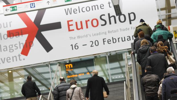 Einen deutlichen Zuwachs an Austellern verzeichnet die Messe Euro-Shop in Düsseldorf.