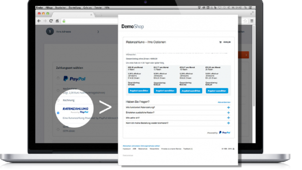 Ratenzahlung by Paypal