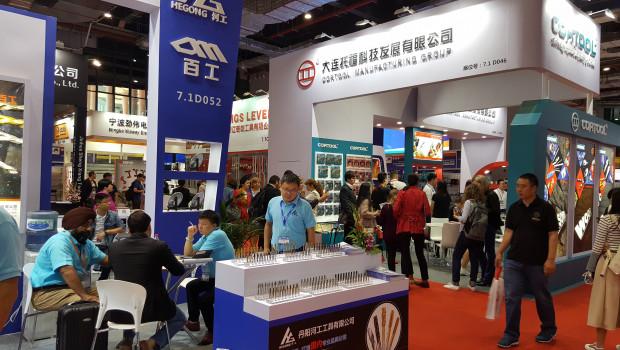 Im Oktober 2018 hatten 2.530 Unternehmen auf der CIHS in Shanghai ausgestellt.