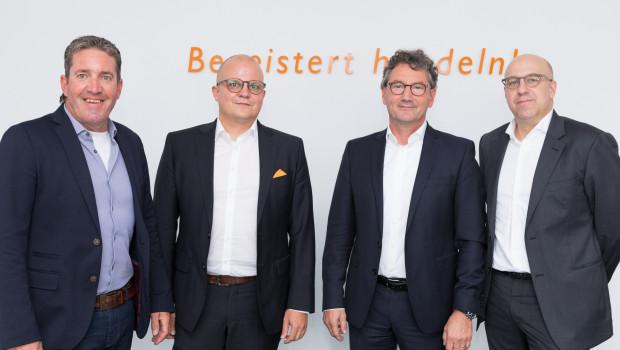 Der künftige EK-Vorstand (vl. l.): Gertjo Janssen, Jochen Pohle, Franz-Josef Hasebrink und Martin Richrath.