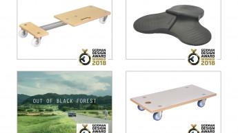 Vier Mal German Design Award für Wagner System