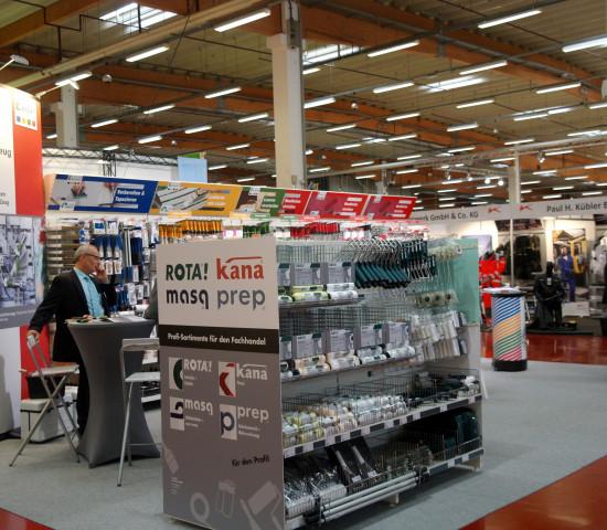 Zum Handelsforum in Bad Salzuflen gehört traditionell auch eine Lieferantenausstellung - hier der Stand von Ciret.