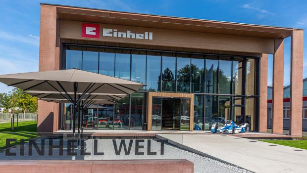 Der Stammsitz von Einhell befindet sich in Landau an der Isar.