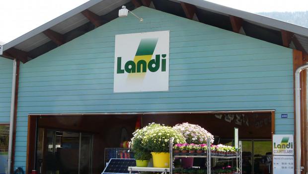 Zur Landi gehören 276 Verkaufsstellen in der ganzen Schweiz.