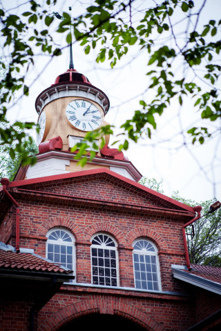Uhrturm in Fiskars