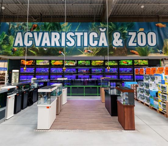 ... Aquaristik hat rund 5.000 m².