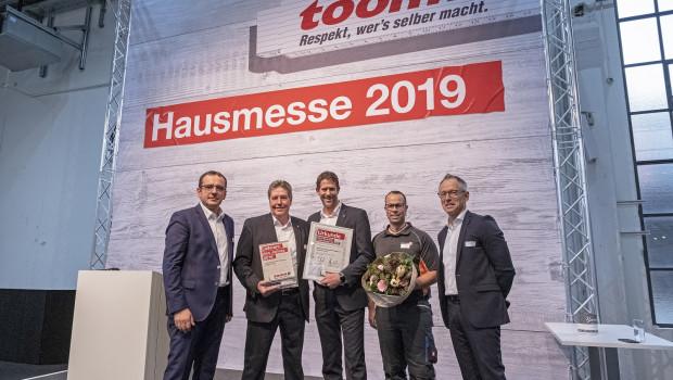 Quick-Mix ist Gewinner des diesjährigen Lieferantenpreises von Toom.