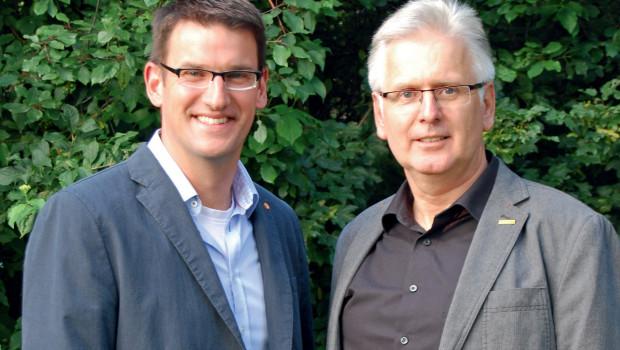 Neue Vertriebsleitung Consumer bei Floragard: Dietmar Pundt (l.) und Martin Dieckmann.