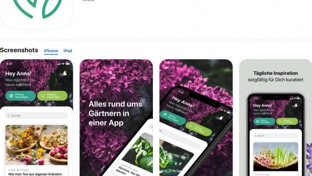 """Neu ist die App """"myGarden"""" von Gardena."""