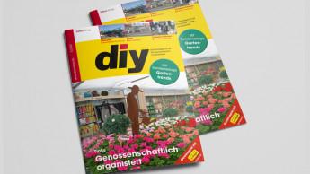 """diy erscheint mit einer weiteren Sonderbeilage """"Gartentrends 2021"""""""
